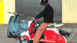 Download Collection of 5 Restored Vintage Scooters Taken for a Road Test Video