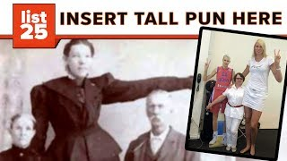 Download 25 Tallest Women Who Ever Lived Video