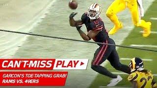 Download Garçon's Unbelievable Sideline Grab Sets Up Hyde's TD! ⚡️   Can't-Miss Play   NFL Wk 3 Video