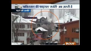 Download Encounter underway between security forces and terrorists in Srinagar's Karan Nagar Video