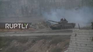Download Syria: SAA take full control of Sheikh Saeed in east Aleppo Video