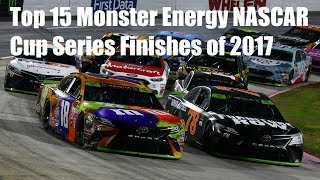 Download Top 15 Monster Energy NASCAR Cup Series Finishes of 2017 Video