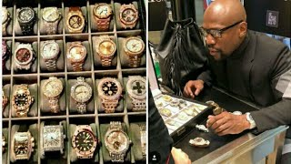 Download Floyd Mayweather Watch Collection Over 30 million Dollars Spent ″song (OMG by C.clark) Video