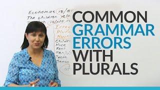 Download Common English Grammar Errors with Plurals Video