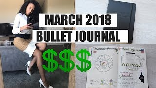 Download March 2018 Bullet Journal | How I Save THOUSANDS Of Dollars! Video