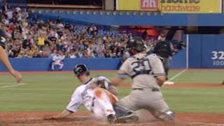 Download NYY@TOR: Aaron Hill steals home Video