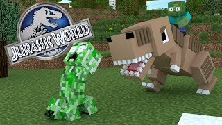 Download Monster School : JURASSIC WORLD CHALLENGE - Minecraft Animation Video