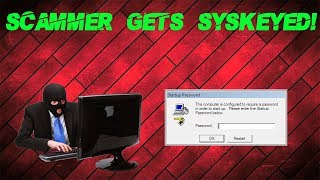 Download Syskeying a Tech Support Scammer's PC!! Video
