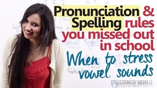 Download Spelling & Pronunciation Rules you missed out in school - English pronunciation lesson for beginners Video