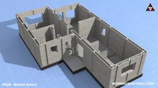 Download Consolidated Contracttors Company's 3D Concrete Printed House Using CyBe Robotic Arm Video