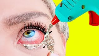 Download Trying Hacks From 5-Minute Crafts ″ 28 Crazy Glue Gun Ideas ″ Video
