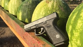 Download how many WATERMELONs it takes to stop a bullet? Video
