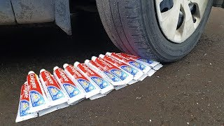Download EXPERIMENT: CAR VS 50 TOOTHPASTE Video