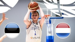 Download Estonia v Netherlands - Full Game - Class. 13-16 - FIBA U20 European Championship Division B 2018 Video
