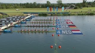 Download Men's Eight Rowing Heats Highlights - London 2012 Olympics Video