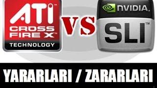 Download AMD Crossfire VS Nvidia SLI Yararları / Zararları Rehberi Video