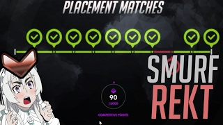 Download Smurf Placement - Overwatch Best Plays Video