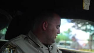 Download Deputy sits in hot car for 25 minutes! Video