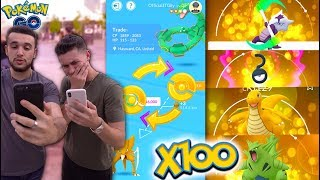 Download HOW MANY LUCKY POKÉMON CAN YOU GET FROM 100 TRADES IN POKÉMON GO? The 100 Trade Challenge! Video