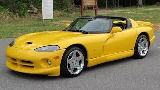 Download 2002 Dodge Viper RT/10 Roadster Start Up, Test Drive, Exhaust, and In Depth Review Video