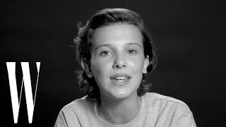 Download Millie Bobby Brown Sings Bruno Mars' ″Just the Way You Are″ | Screen Tests | W magazine Video
