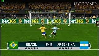 Download BRAZIL vs ARGENTINA | Penalty Shootout | PES 2017 Gameplay Video