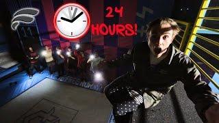 Download 24 HOUR CHALLENGE SUPER TRAMPOLINE PARK! (SNEAKING IN) Video