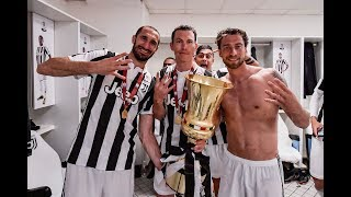 Download Juventus celebrate winning their fourth straight Coppa Italia! Video