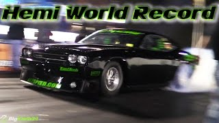 Download ProCharged Hemi Challenger Blasts 200+MPH Quarter Mile - World Record! Video