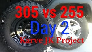 Download 305 vs 255 Tire Size Comparison Video