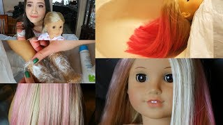 Download FIXING UP AND CUSTOMIZING AN OLD DOLL! (HAIR DYING) Video