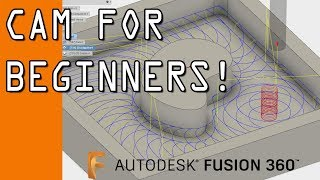 Download Fusion 360 CAM Tutorial for Beginners! FF102 Video
