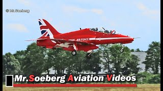 Download RED ARROWS Arrival + F16 DEPARTURE + Marchetti's at Volkel Openday 2019 Video