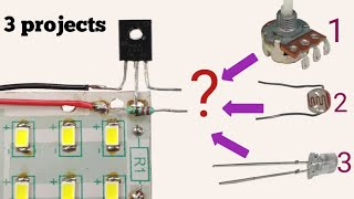 Download Top 3 awesome circuit | Same circuit just change 1 component Video