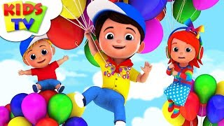 Download Balloon Song   Junior Squad   Kindergarten Rhymes For Toddlers   Cartoon Videos by Kids Tv Video