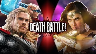 Download Thor VS Wonder Woman (Marvel VS DC Comics) | DEATH BATTLE! Video