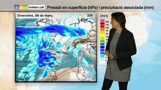 Download Predicció general per a dijous 08-03-2018: Video
