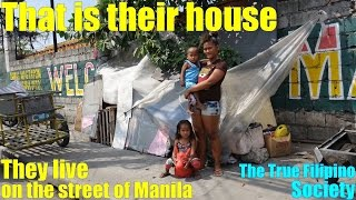 Download Travel to Manila Philippines and Meet these Homeless Kids who Live on the Street of Manila Video