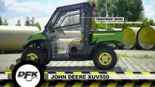Download JOHN DEERE GATOR XUV 550 MODEL UTV WITH THE NEW CAB Video