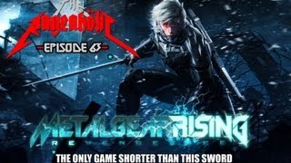 Download Metal Gear Rising: REVENGEANCING OF VENGEFUL VENGEANCE! - The Rageaholic Video
