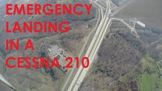 Download EMERGENCY LANDING IN A CESSNA 210 (KCGF to KBKW) Video