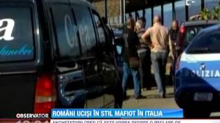 Download Update / Romani executati, in stil mafiot, in Italia Video