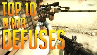 Download CS:GO - Top 10 | Ninja Defuses Video