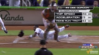 Download SF@MIA: Gordon laces inside-the-park home run Video