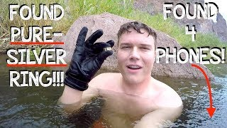 Download River Treasure - I Found a HUGE Silver Ring, a Working iPhone 7 (iPhone Returned to Owner!!!) Video