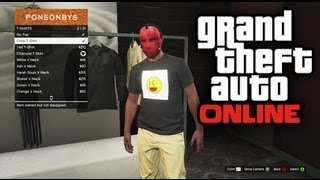 Download GTA 5 Online - How To Create Your Own Emblem / Custom Shirt (GTA V Online) Video