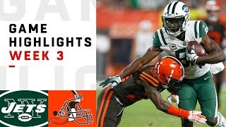 Download Jets vs. Browns Week 3 Highlights | NFL 2018 Video