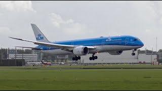 Download [4K] Plane Spotting at Amsterdam Airport Schiphol | B747, B757, B777, B787, A330 Video