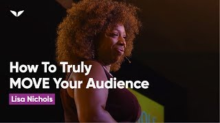 Download How to Be a World Class Speaker that can Truly MOVE an Audience | Lisa Nichols Video