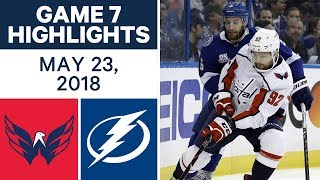 Download NHL Highlights | Capitals vs. Lightning, Game 7 - May 23, 2018 Video